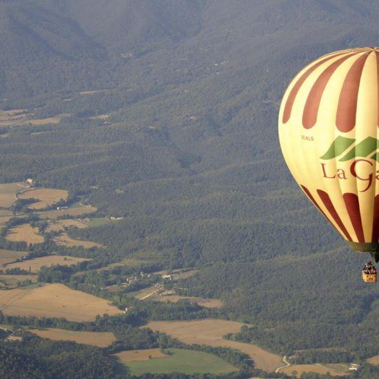 vol en globus garrotxa viatges mestres