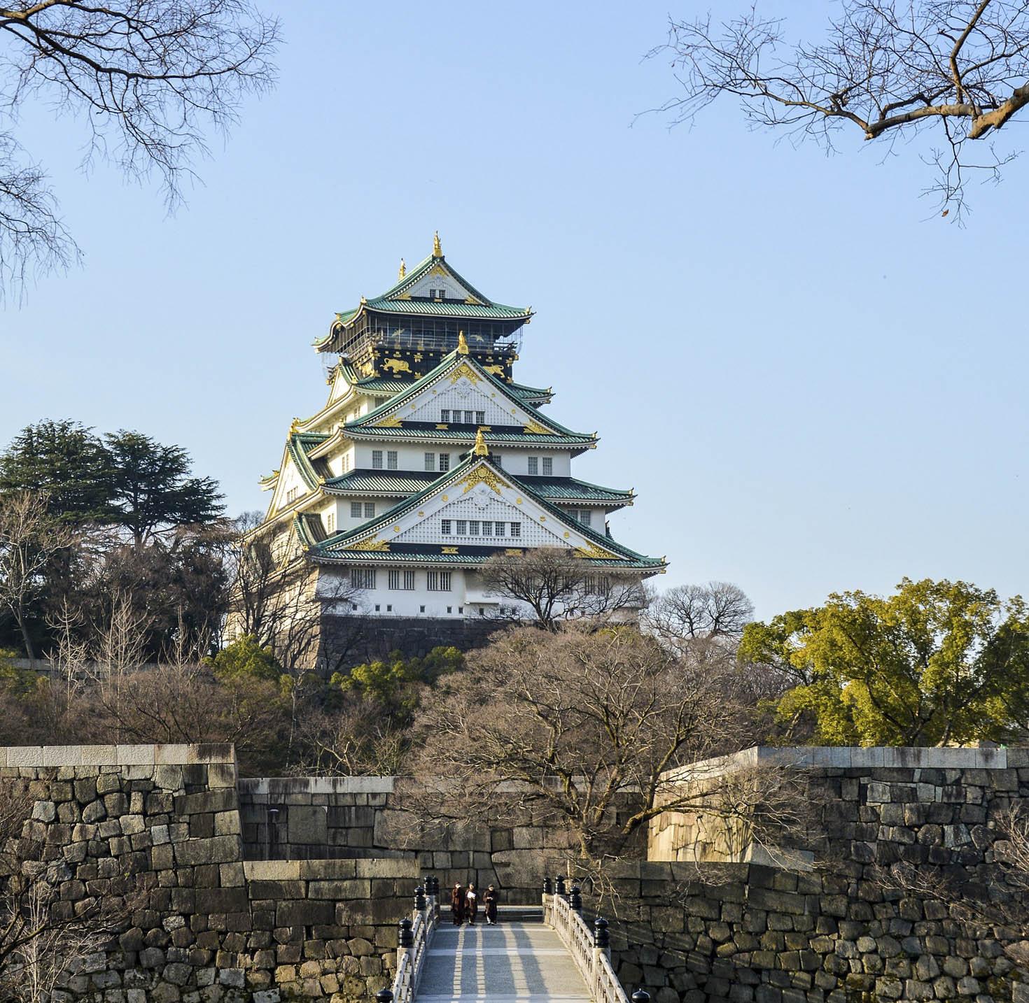 castell osaka, japó