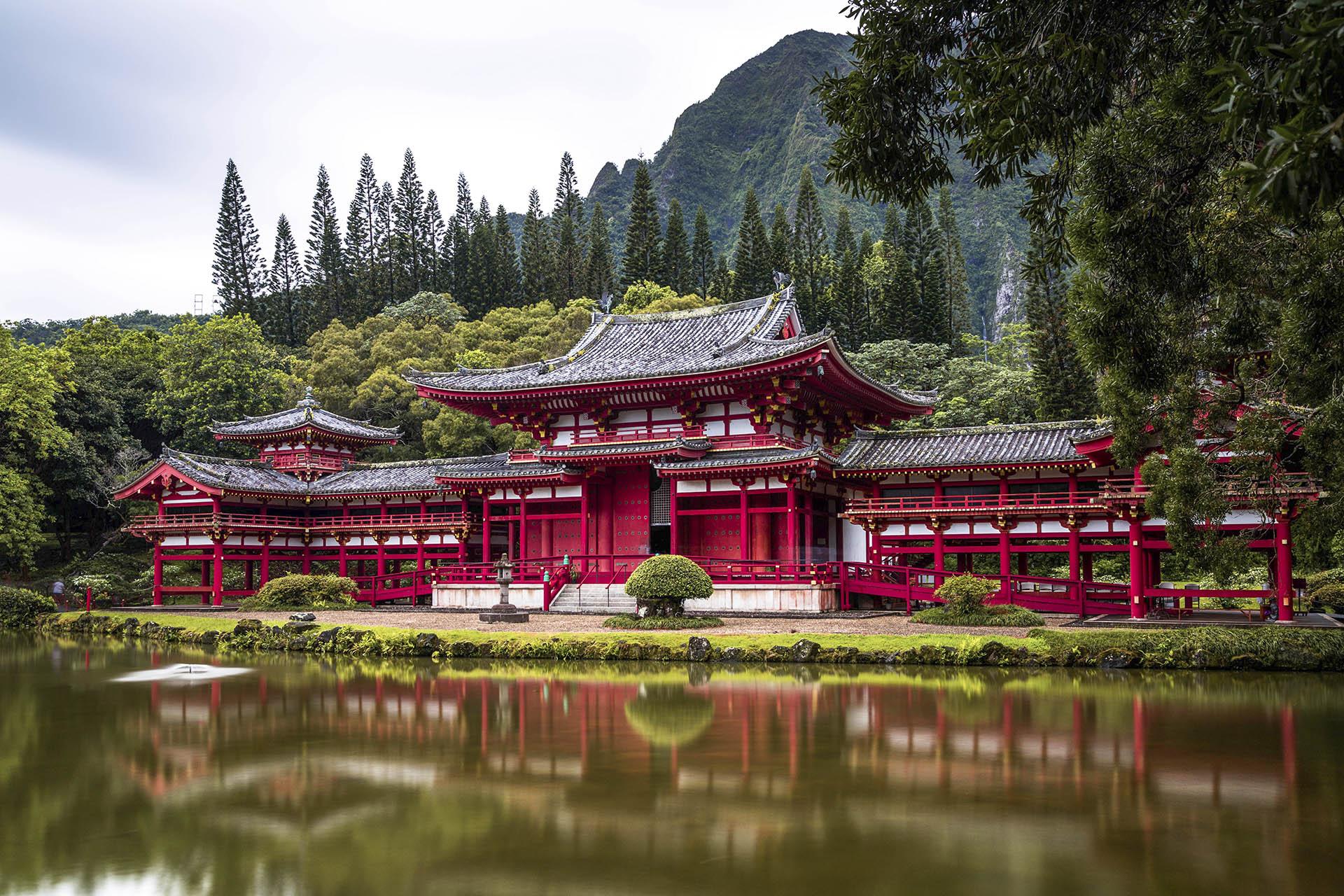 Temple byodo, japó