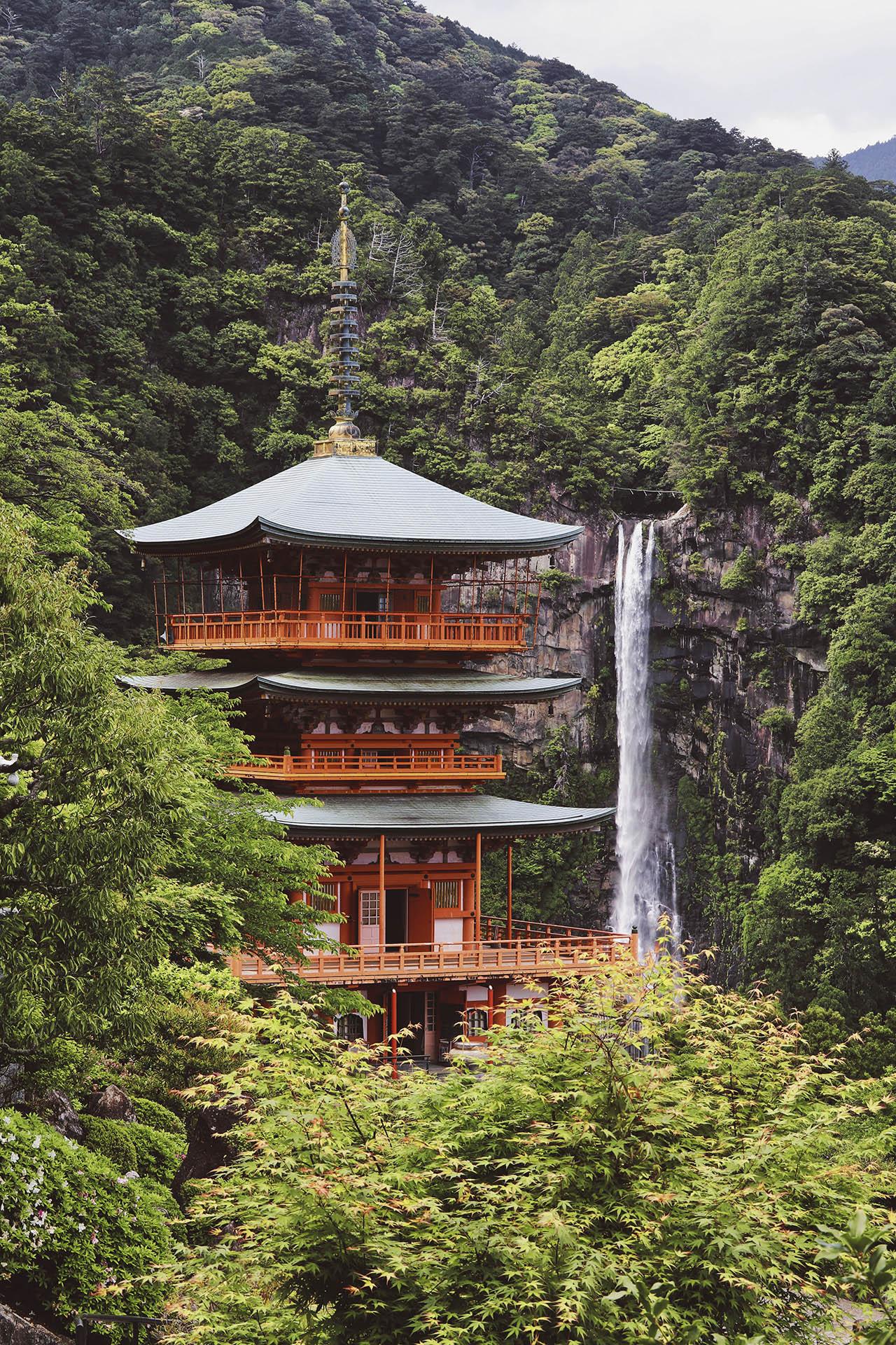 temple kumano kodo