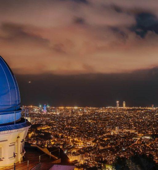 observatori fabra sopar amb estrelles