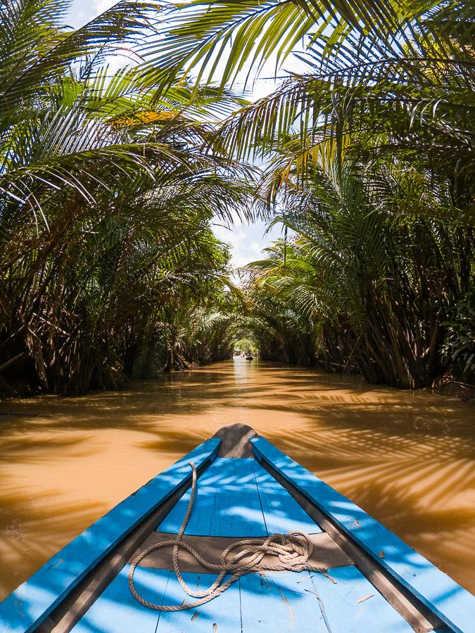 canal de les palmeres de coco vietnam