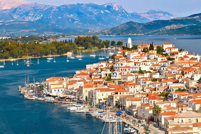 isla poros grecia