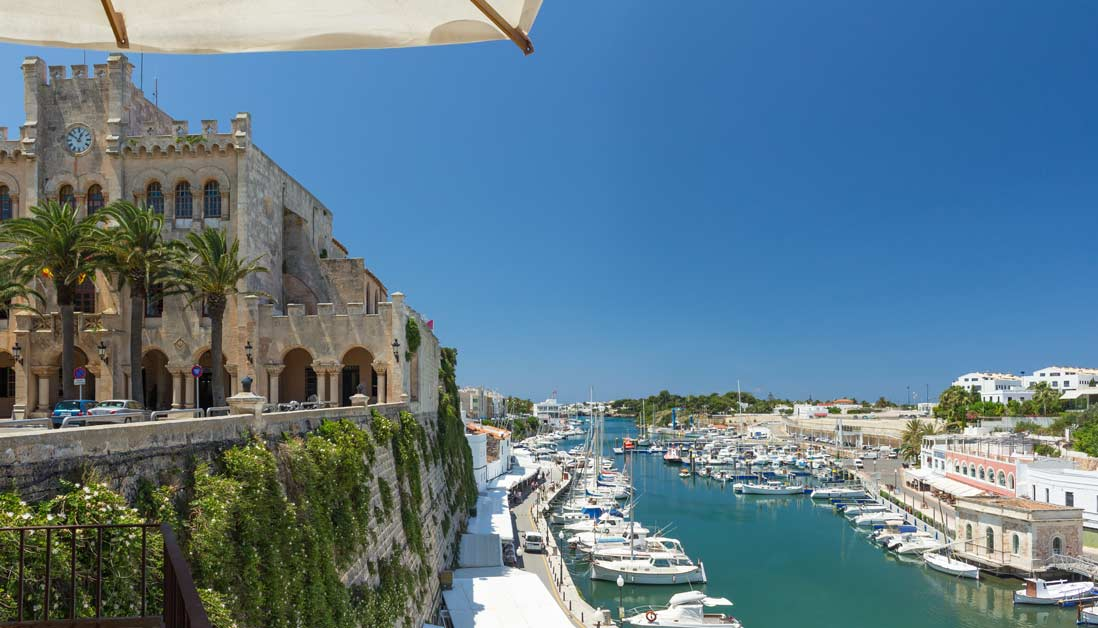 Placa es born Ciutadella Menorca